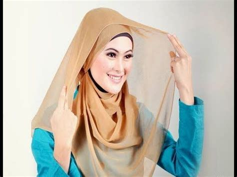 tutorial jilbab pasmina yang sederhana 1000 images about hijab and cosmetic on pinterest brown