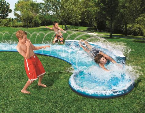 backyard waterslide awesome backyard water slide outdoor furniture design and ideas