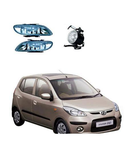 Car Fog Ls India by Cartime Hyundai I10 Clear Fog Light L Set Of 2 Buy Cartime Hyundai I10 Clear Fog Light