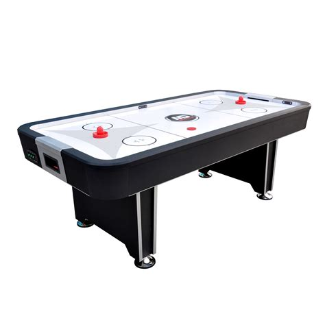large air hockey table and table tennis double the fun