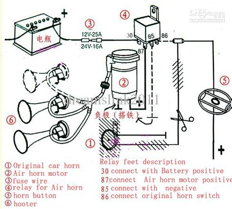 horn cutout wiring diagram 28 images 12v dc wiring