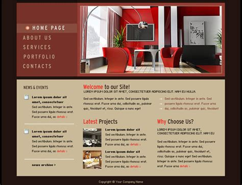 free flash templates free flash web templates