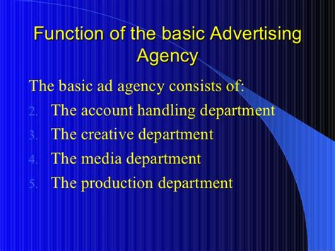What Is The Purpose Of The Department Of Interior by 10 Function Of Dept In Ad Agency