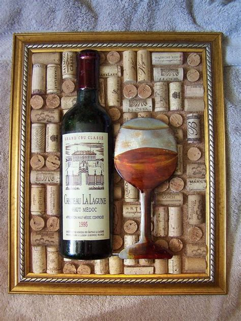 Decorative Wine Corks by Large Decorative Wine Cork Picture Beautiful By