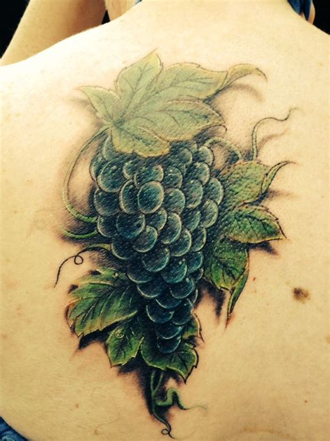 gallery for gt grape tattoos vine