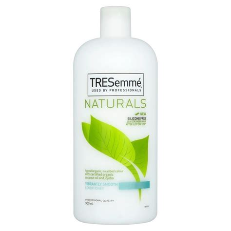 popular silicon free leave in conditioners tresemm 233 vibrant naturals conditioner 900 ml 163 4 95