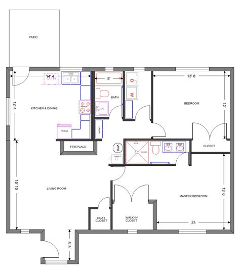 Floor Plans Exles | floor plan exles for homes modern house