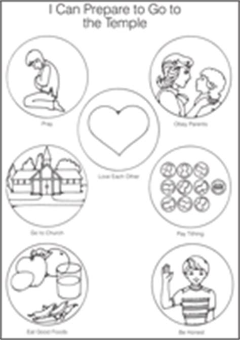 lds coloring pages families can be together forever primary 1 i am a child of god lesson 26 families can be