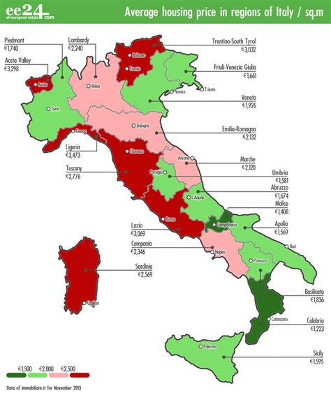 italy boot map