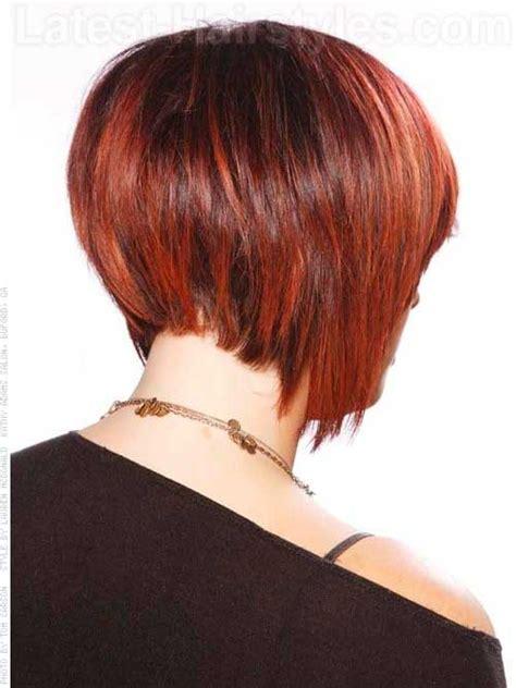 how to cut a hidden stacked haircut 25 back view of bob haircuts bob hairstyles 2017 short