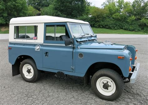 1970 land rover for 1970 land rover series iia connors motorcar company