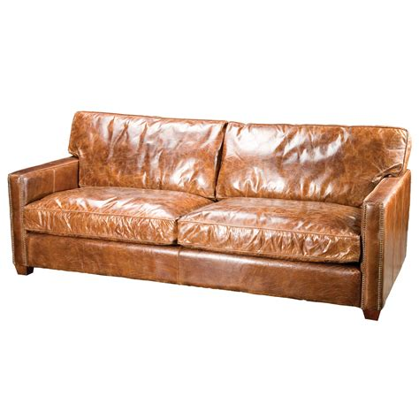 aged leather sofa distressed leather sofa roselawnlutheran