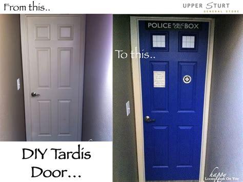 Diy Door Store by Diy Tardis Door Makeover Sturt General Store