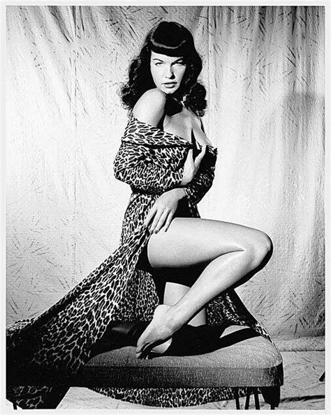 bettie page some like it retro icons bettie page