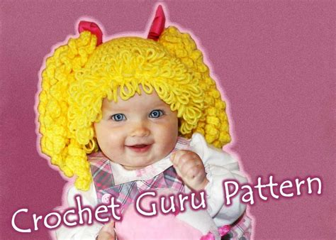 cabbagepatchknitted hat pattern crochet cabbage patch hat