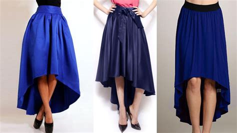 pattern of umbrella skirt high low umbrella cut long skirt drafting cutting and