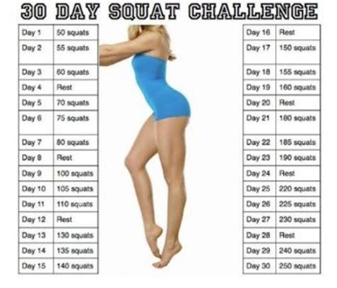 60 days squat challenge 30 day squat challenge