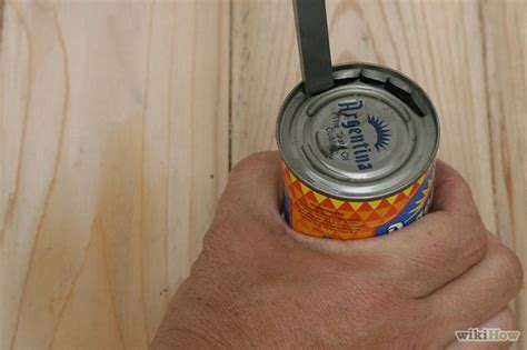 how do you use a can opener how to open a can without a can opener