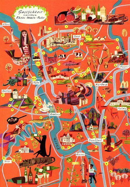 kotter germany volkmar k 246 tter illustration pictorial maps