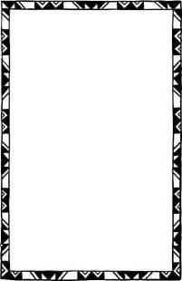 Luxury Chess Set Black Decorated Frame White Page Border Free