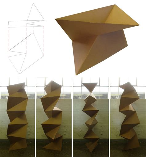 Origami Wall - cardboard origami wall 2 by scottdpenman on deviantart