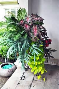 pot flower arrangement outdoor garden ideas pinterest