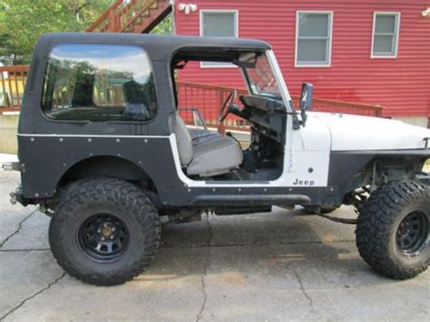 Jeep Wrangler 6 Lift Buy Used 1988 Jeep Wrangler With 6 Inch Lift 33 Inch