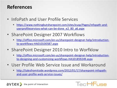 sharepoint designer 2007 workflow techfuse 2012 sharepoint business applications at your