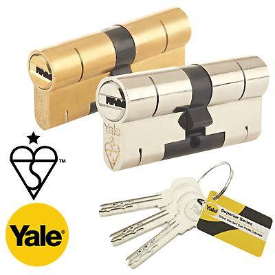 yale superior euro cylinder lock anti pick bump high