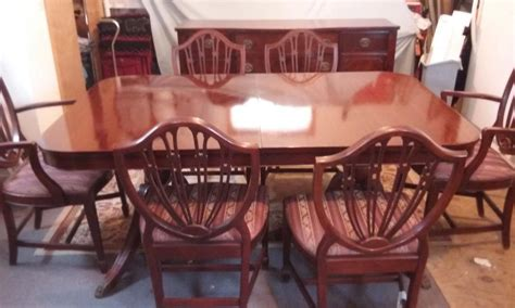 duncan phyfe dining room set duncan phyfe dining room set for sale classifieds