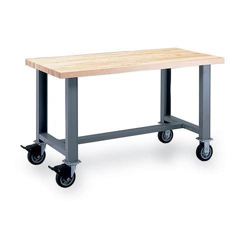 lista bench lista mobile workbench standard bench 60 215 30 steel top