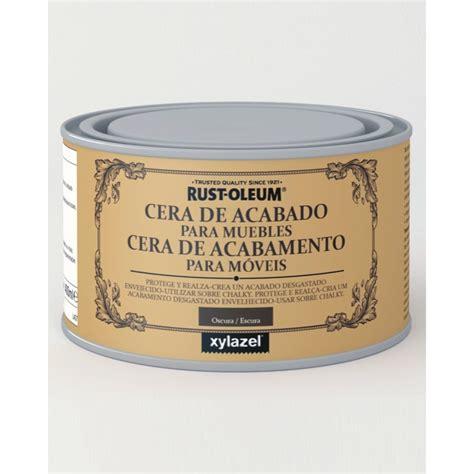 chalk paint y cera cera acabado oscuro efecto tiza chalk paint xylazel rust