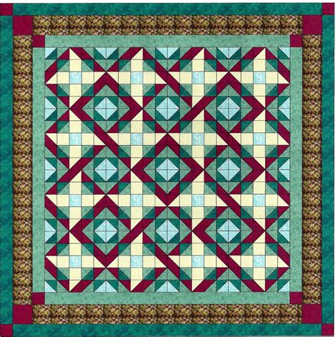 Ready To Sew Quilt Kits by Easy Quilt Kit Twist And Shout Pre Cut Fabrics Ready