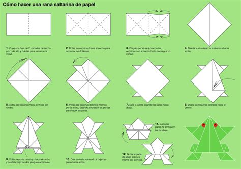 Step By Step Origami Frog - step by step how to origami 2018
