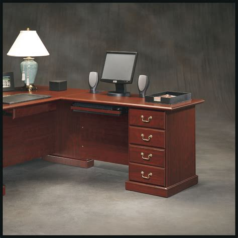 Home Office Desk Kits Sauder Heritage Hill 48in Return Kit Home Furniture