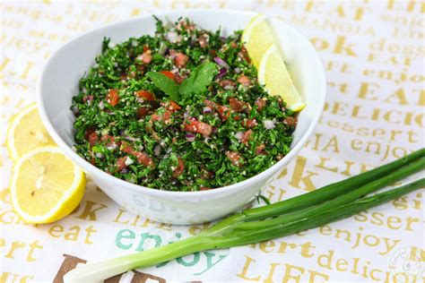 fresh light authentic lebanese tabbouleh colorful recipes