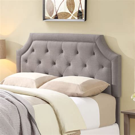 upholstered bed frame and headboard bedroom wayfair headboards cal king headboard upholstered