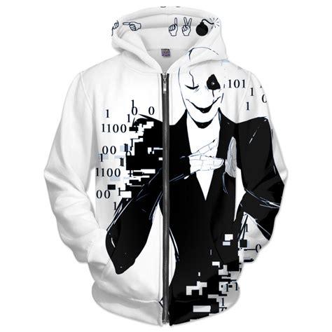 Hoodie Undertale Sans 2 gaster hoodie from rageon things i need