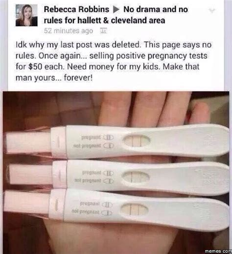 Pregnancy Test Meme - home memes com