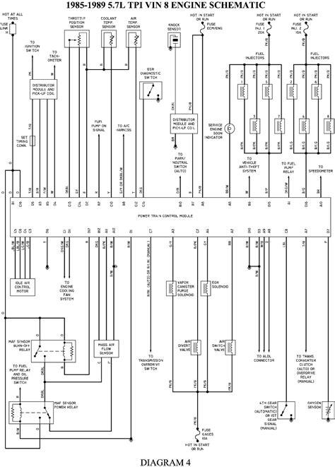 engine control wiring schematic   corvette