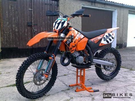 2006 Ktm 125sx 2006 Ktm 125 Sx Moto Zombdrive
