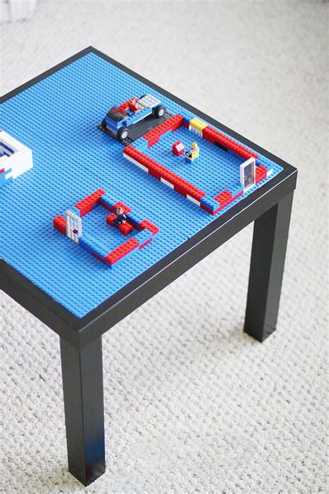 diy lego table sew much ado