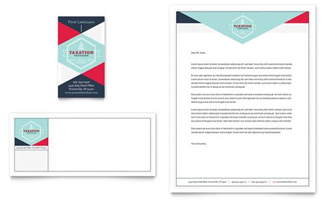 Business Cards And Letterhead Templates