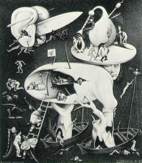 biography of escher the artist maurits cornelis escher