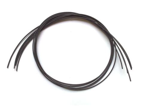 Hair Dryer Heat Shrink Tubing 5m black heat shrink 1 6mm hair rigs carp fishing ebay