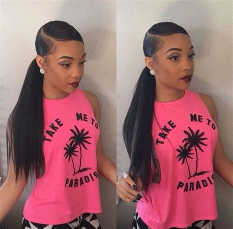 hair swoop to the side slick back on one side for african american women 25 side part sew in styles and how to sew in tutorial