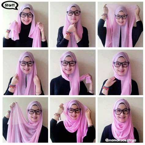 tutorial hijab pasmina fasion 6 hijab tutorials for every hijabi jumia chic fashion