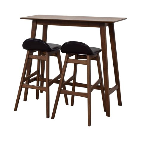 Wood Bar Stool Set by 52 Wood Bar Table And Stools Set Tables