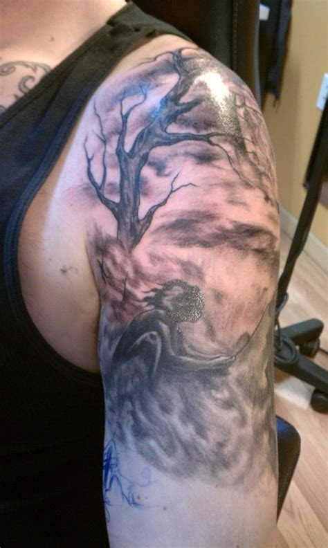half sleeve tree tattoo designs tree half sleeve design tattoos book 65 000