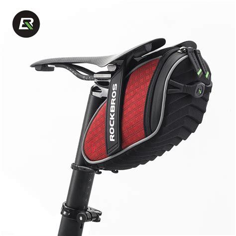 best mountain bike seat bag 2017 rockbros folding bike bag mtb bicycle seat saddle bag